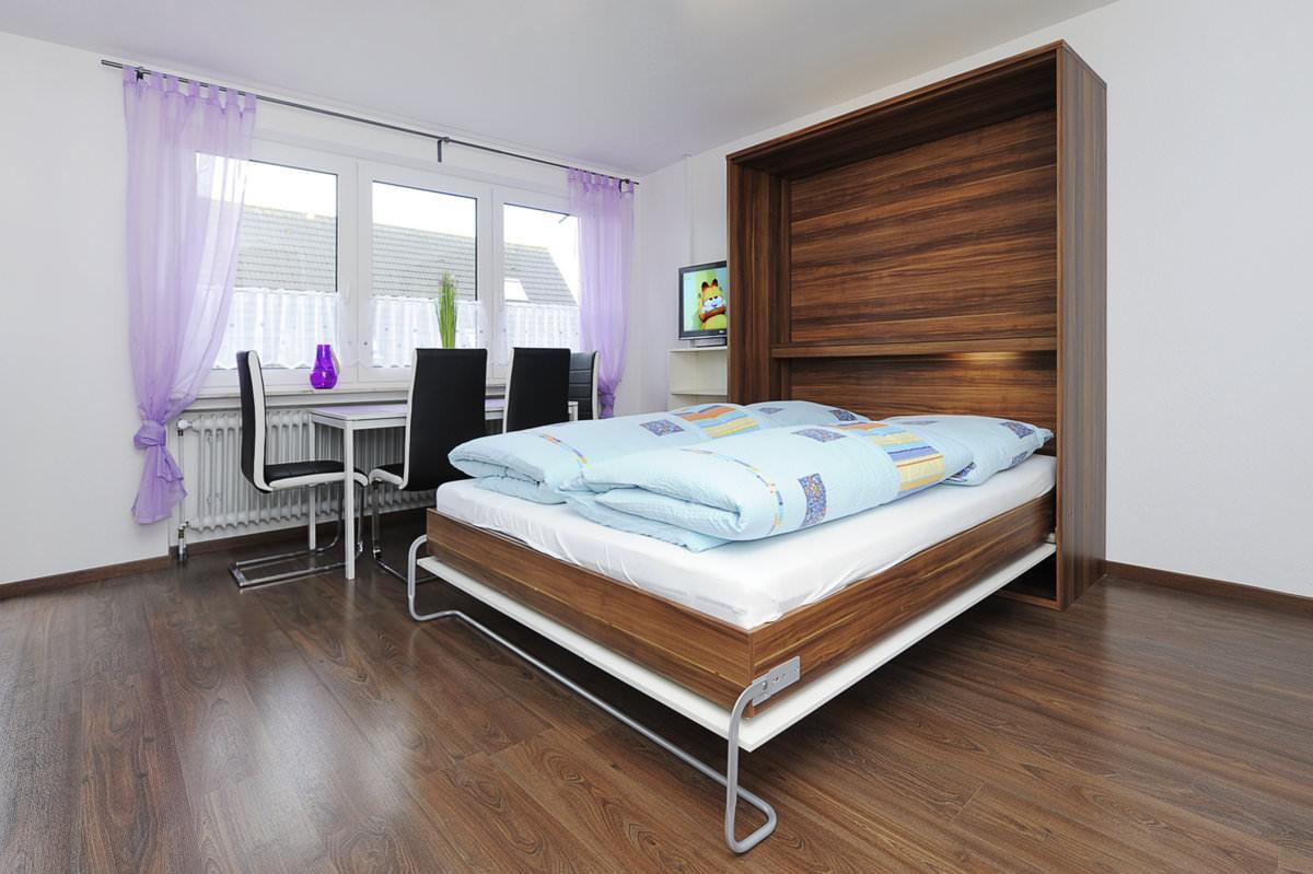 wohn und schlafzimmer. Black Bedroom Furniture Sets. Home Design Ideas